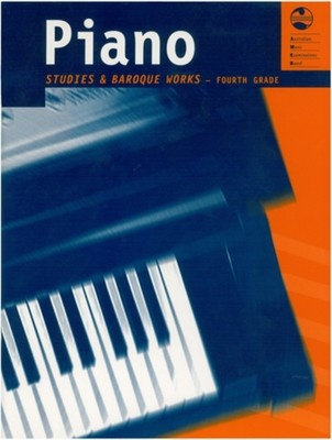 Ameb Piano Studies And Baroque Works Grade 4