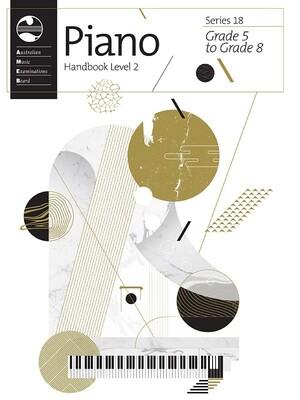 Ameb Piano Level 2 Handbook Series 18 Grade 5-8