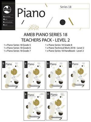 Ameb Piano Teachers Pack Level 2 Series 18
