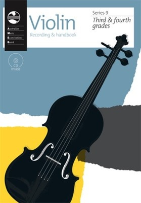 Ameb Violin Gr 3 To 4 Series 9 Cd/handbook