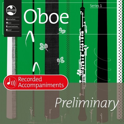 Ameb Oboe Preliminary Series 1 Recorded Accomp CD