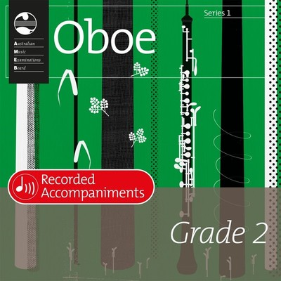 Ameb Oboe Grade 2 Series 1 Recorded Accomp CD
