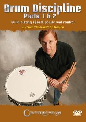 Drum Discipline Parts 1 & 2 Dvd