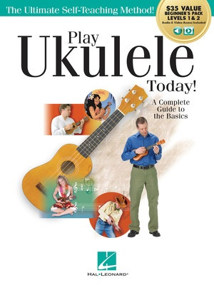 Play Ukulele Today! All-in-one Beginners Pack Bk/olm