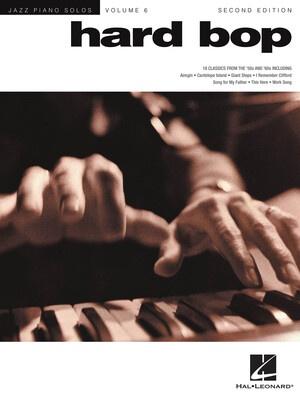 Hard Bop Jazz Piano Solos V6 2nd Edition Jps