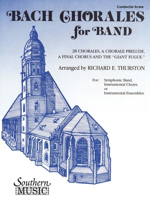 Bach Chorales For Band Score