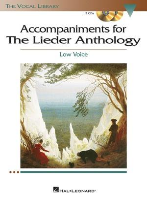 Lieder Anthology Low Acc Cds Voclib