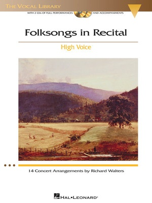 Folksongs In Recital Bk/2cds High Voice