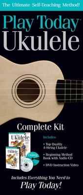 Play Ukulele Today Comp Kit Uke/bk/cd/dvd