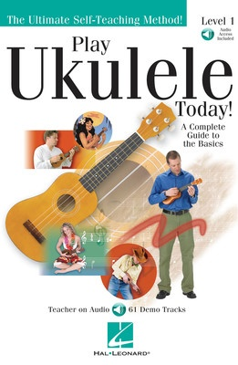 Play Ukulele Today Plus Lev 1 Bk/ola
