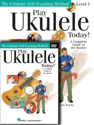 Play Ukulele Today Beginner Pack Bk/dvd/ola