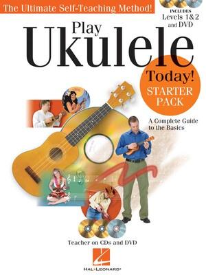 Play Ukulele Today Starter Pack Bk/cd/dvd