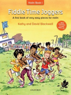 Fiddle Time Joggers Violin Bk/cd Revised