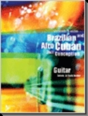 Brazilian Afro Cuban Jazz Conception Guitar BK/CD