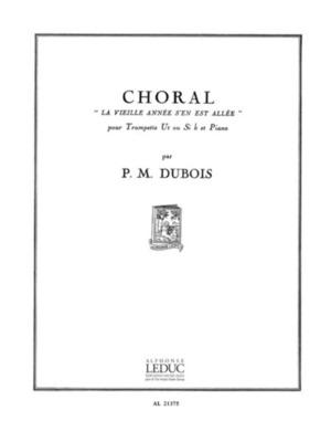 Dubois - Choral La Vieille Annee Trumpet/piano