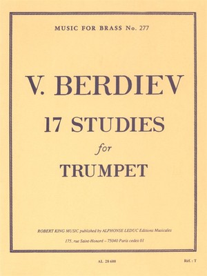17 Studies For Trumpet Solo