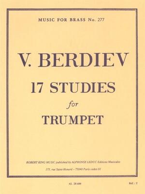 17 Studies For Trumpet Solo