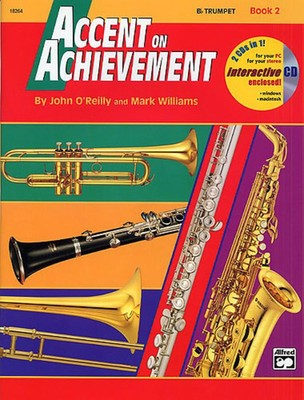 Accent On Achievement Bk 2 Combined Percussion