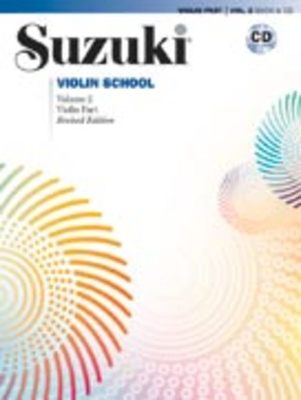 Suzuki Violin School Vol 2 Bk/cd New Ed 2008