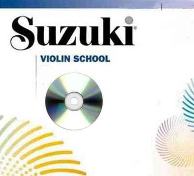 Suzuki Violin School Bk 3 CD Preucil New Ed