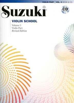 Suzuki Violin School Vol 5 Bk/cd New Ed 2008