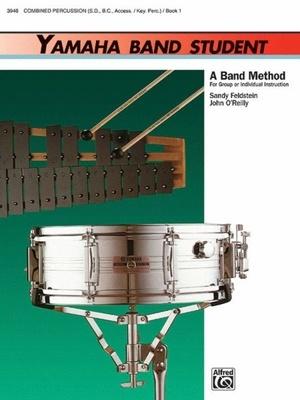 Yamaha Band Student Bk 1 Combined Percussion
