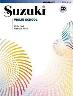 Suzuki Violin School Vol 7 Bk/cd New Ed