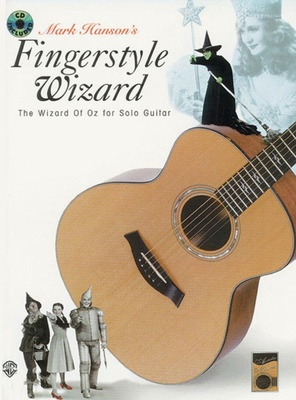 Fingerstyle Wizard Bk/cd Wizard Of Oz Solo Gtr