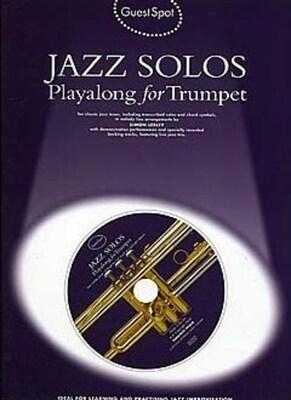 Guest Spot Jazz Solos Trumpet BK/CD