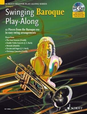 Swinging Baroque Playalong Trumpet BK/CD