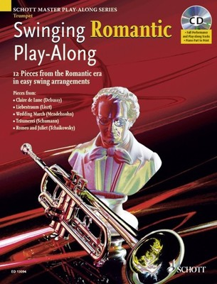 Swinging Romantic Playalong Trumpet BK/CD