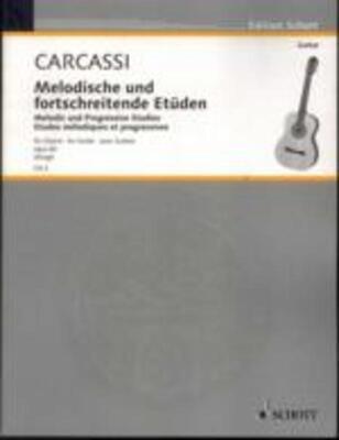 Carcassi - Melodious & Progressive Studies Op 60 Guitar