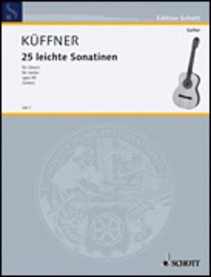 Kueffner - 24 Easy Sonatinas Op 80 For Guitar