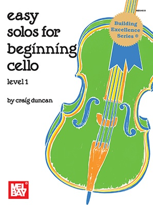 Easy Solo For Beginning Cello Level 1