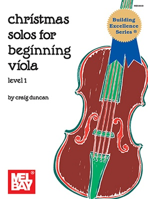 Christmas Solos For Beginning Viola Viola/piano
