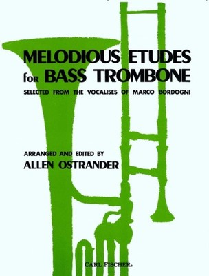 Bordogni - Melodious Etudes For Bass Trombone