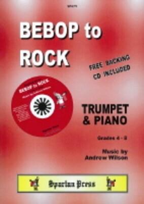 Bebop To Rock Tpt/pno BK/CD
