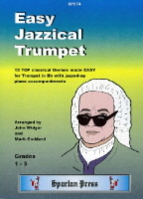 Easy Jazzical Trumpet Arr Widger Goddard Tpt/pno
