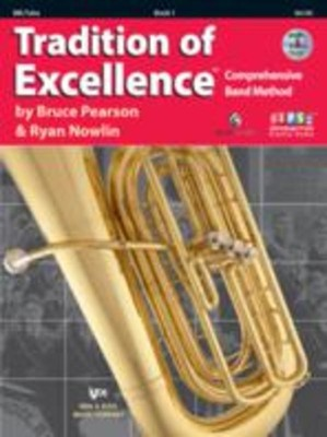Tradition Of Excellence Bk 1 Tuba Bb Flat Bk/dvd