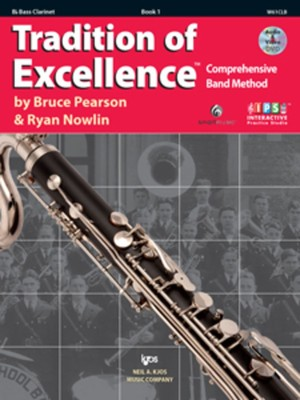 Tradition Of Excellence Bk 1 Bass Clarinet Bk/dv