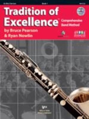 Tradition Of Excellence Bk 1 Alto Clarinet Bk/dv