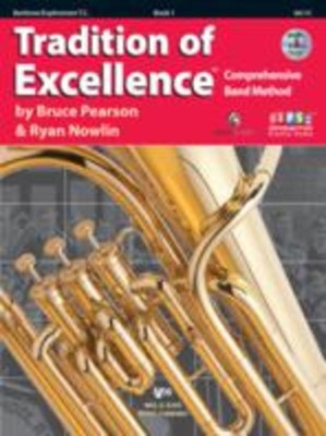 Tradition Of Excellence Bk 1 Baritone Tc Bk/dvd