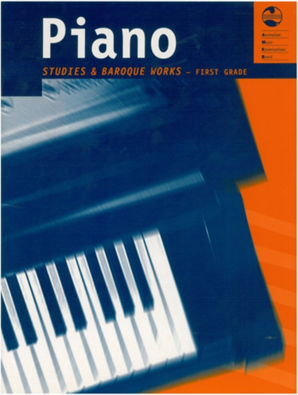 Picture of AMEB PIANO STUDIES AND BAROQUE WORKS GRADE 1 : Piano Studies and Baroque Works - First Grade