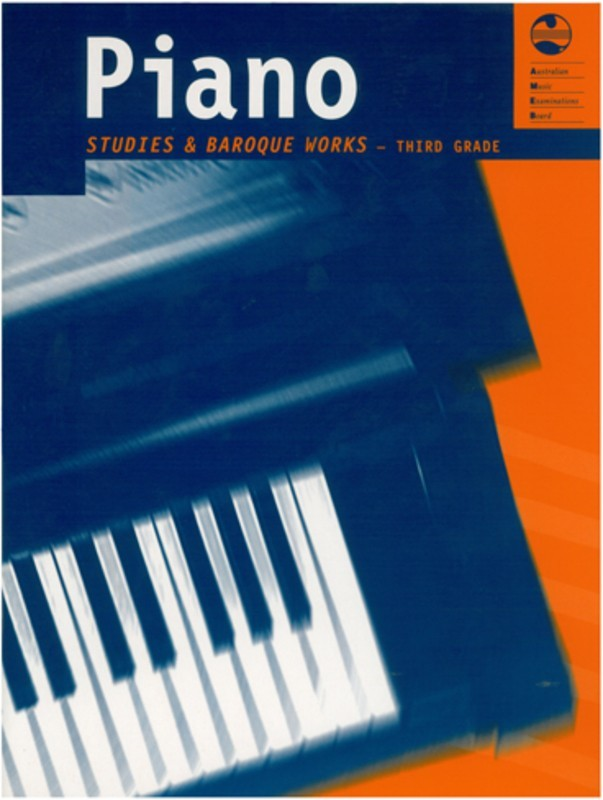 Picture of AMEB PIANO STUDIES AND BAROQUE WORKS GRADE 3 : Piano Studies and Baroque Works - Third Grade