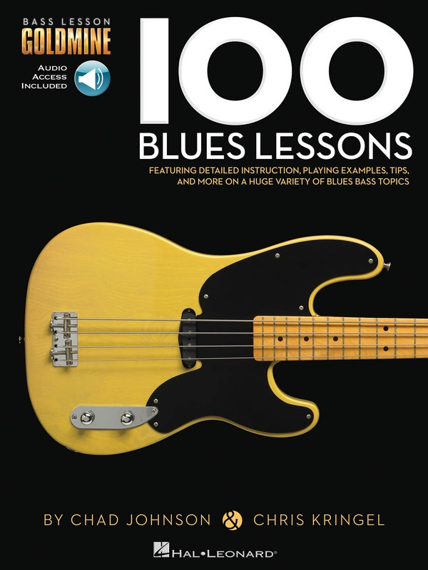 100 BLUES LESSONS BASS GTR GOLDMINE BK/OLA : 100 Blues Lessons