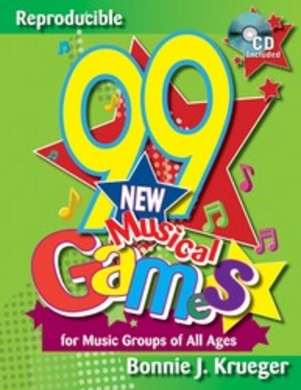 99 NEW MUSICAL GAMES BK/CD : 99 New Musical Games
