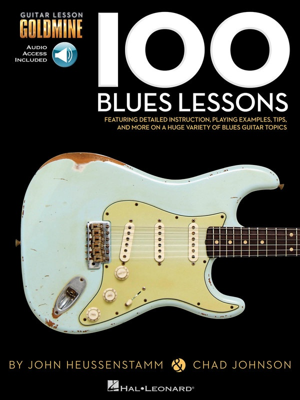 100 BLUES LESSONS GUITAR GOLDMINE BK/OLA : 100 Blues Lessons