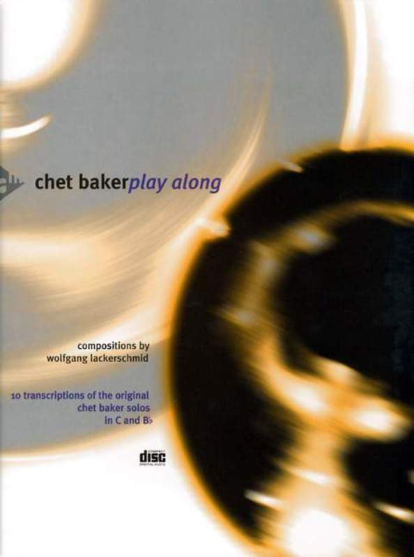 Chet Baker Playalong B Flat/c Instruments BK/CD