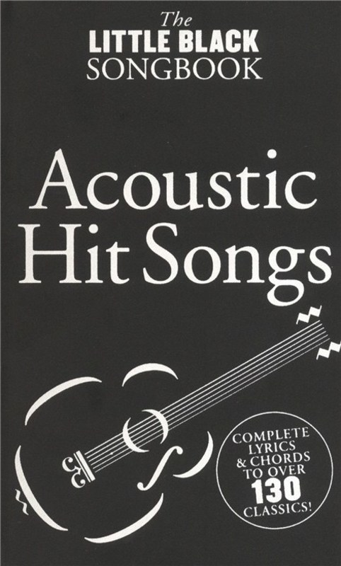 Picture of LITTLE BLACK BOOK OF ACOUSTIC HITS : The Little Black Book of Acoustic Hits