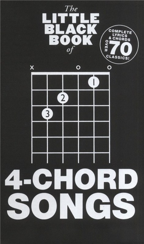 Picture of LITTLE BLACK BOOK OF 4 CHORD SONGS : The Little Black Book of 4 Chord Songs